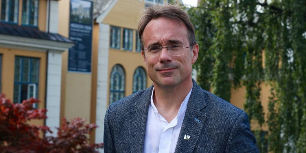 Rektor ved Høgskulen i Volda, Johann Roppen, er kritisk til korleis departementet har handsama forslag til eksterne styremedlemmar ved landets universitet og høgskular. Foto: VeronicaTurnage