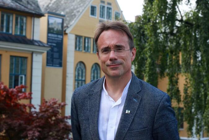 Rektor Høgskulen i Volda, Johann Roppen.