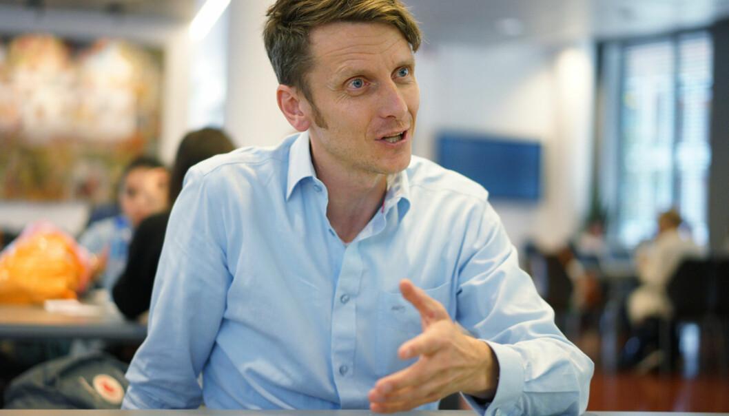 Tarjei Helland mener at det er for mye «mas» om testing i norsk skole. Foto: KetilBlom