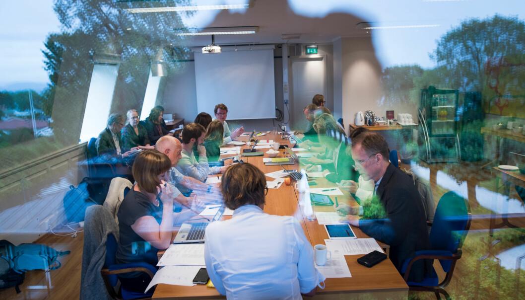 Styremøte på Refsnes Gods Foto: Skjalg Bøhmer Vold
