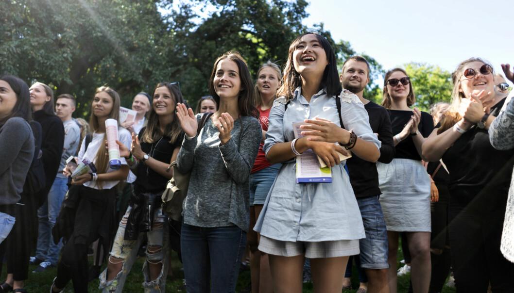 Studentslipp i Oslo 2016.
