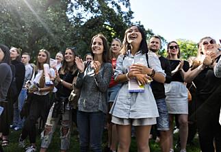 700 studenter nøt av Oslo
