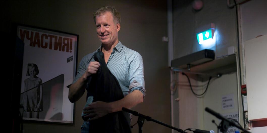 Rektor ved Høgskolen i Oslo og Akershus får kritikk etter et intervju i siste nummer avMorgenbladet. Foto: Nicklas Knudsen