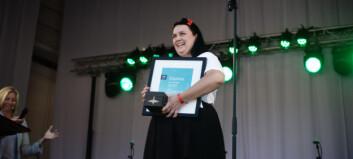 Årets student 2016 er Iselin Dagsdotter Sæterdal