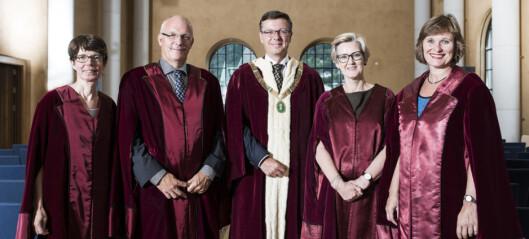 Rektor Olsen med nytt team i Bergen