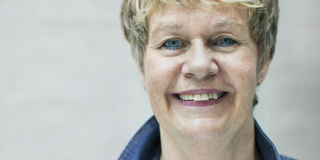 Førstelektor Karin Brunvathne Bjerkestrand underviser i drama- og teaterkommunikasjon på Institutt for estetiske fag. Foto: Åse MariaMikkelsen