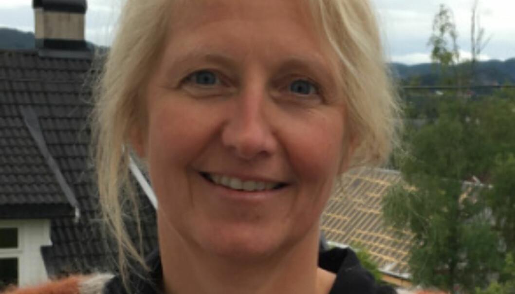 Høgskolelektor Lisbeth Elvebakk en av fem finalister som årets underviser på Høgskolen i Oslo og Akershus. Foto:Privat
