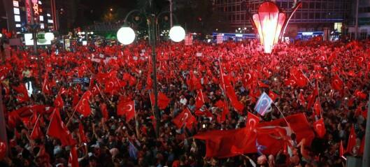 Opplevde kaoset i Ankara