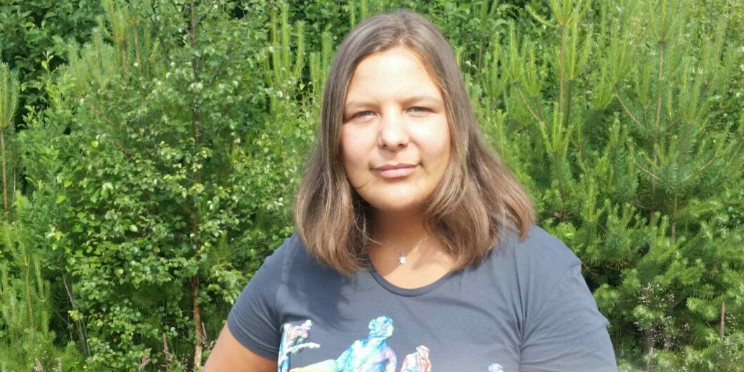 — Jeg er sjokkert over at det går an, sier Caroline Strømlid (24) som gikk fra C til stryk etter å ha klaget på eksamensresultatet.(Foto:Privat)