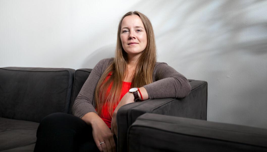 Leder i Norsk studentorganisasjon, Marianne Andenæs, håper Høyre ikke går inn for skolepenger på landsmøtet i helga. Foto: Nicklas Knudsen