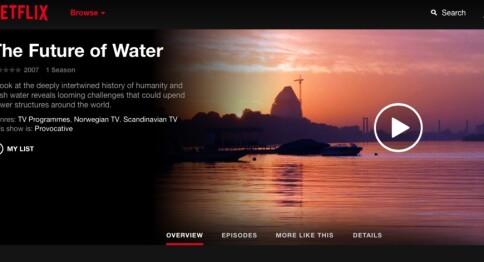 Dokumentar av UiB-forsker på Netflix