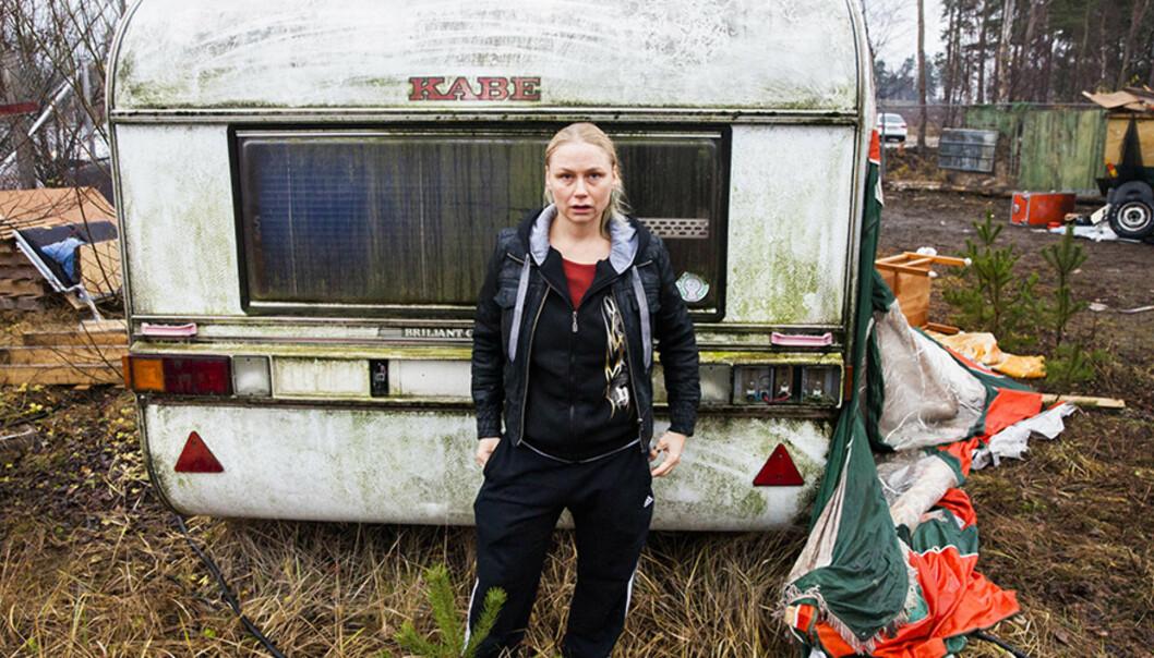 Malin Levanon spiller Minna slik at vi tror på henne. Rollen ga henne Gulbaggen, svensk films gjevestepris.