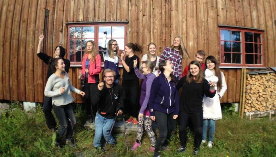 """Norges Kristelige Student— og Skoleungdomslag er en av organisasjonene som mottok støtte fra Landsrådet for Norges Barne— og ungdomsorganisasjoner. Tilsammen ble 126 millioner kroner fordelt på 100 organisasjoner. Foto: Laget (<span class=""""caps"""">NKSS</span>)"""