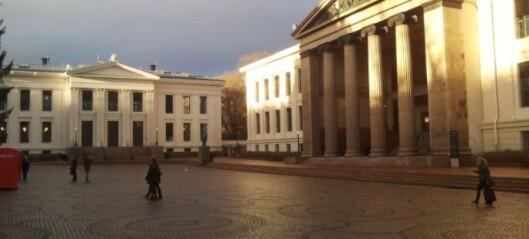 Mediehandtering til stryk ved Universitetet i Oslo