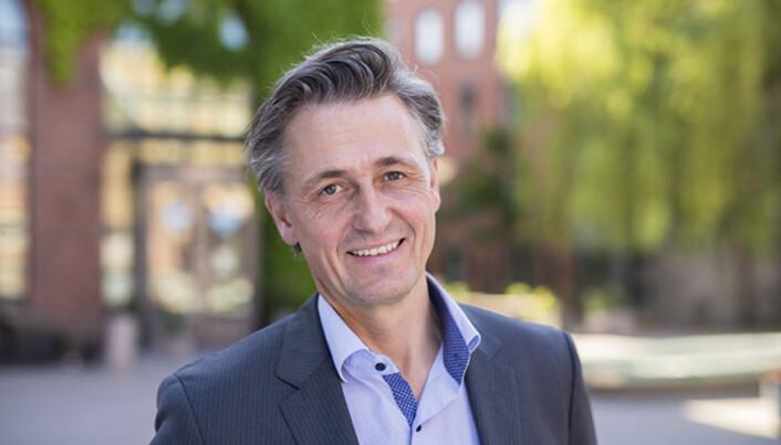 Direktør for digitalisering og infrastruktur ved OsloMet, Asbjørn Seim, forhandler nå om en mindre og billigere campus på Kjeller.