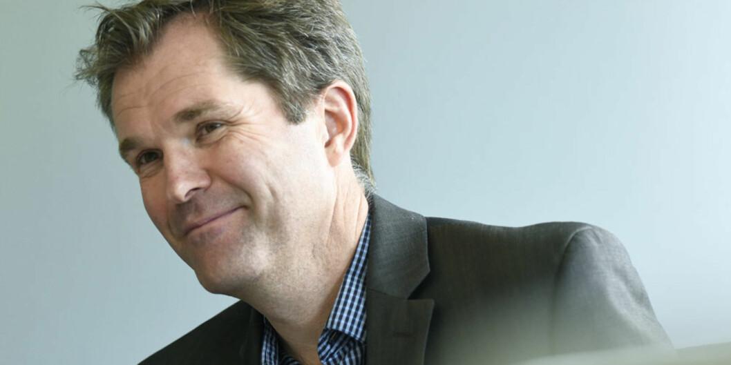 John-Arne Røttingen tiltrer som ny toppsjef i Forskningsrådet i mars 2017. Foto: Ola Sæther,Uniforum