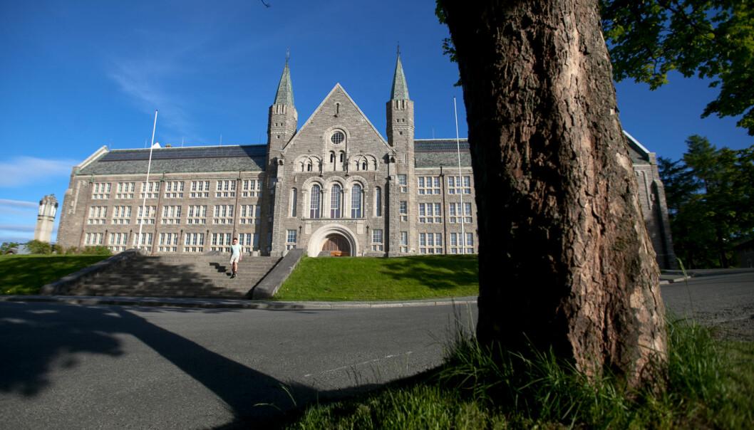 En NTNU-student i 20-årene er alvorlig skadd og ligger på intensiven ved St. Olavs Hospital iTrondheim. Foto: Nicklas Knudsen
