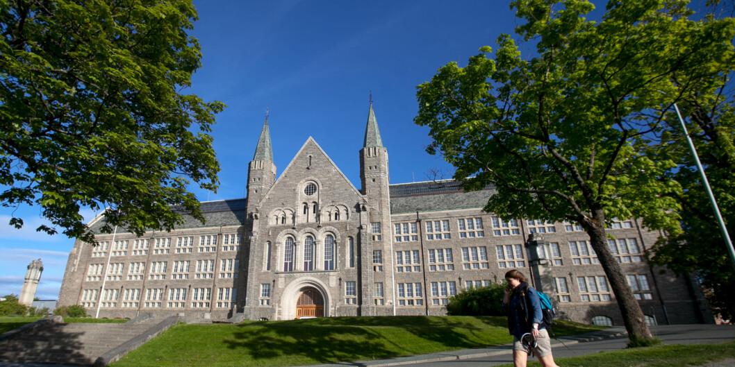"""En mann i 30-årene har gått til sak mot <span class=""""caps"""">NTNU</span> i Trondheim etter at universitetet mente han ikke var skikket.Illustrasjonsfoto. Foto: Nicklas Knudsen"""