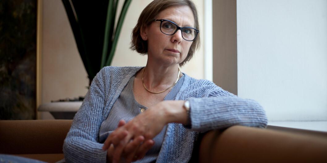 Leder for sykepleievitenskap ved Universitetet i Oslo, Marit Kirkevold, etterlyser mekanismer som regulerer dimensjonering av sykepleierutdanning isektoren. Foto: Nicklas Knudsen