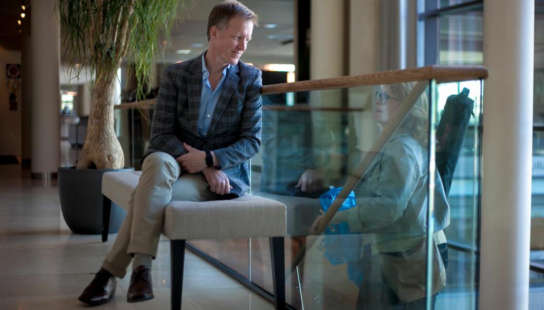 Curt Rice prøver en gang til å ansette en av sine nærmestedirektører. Foto: Nicklas Knudsen