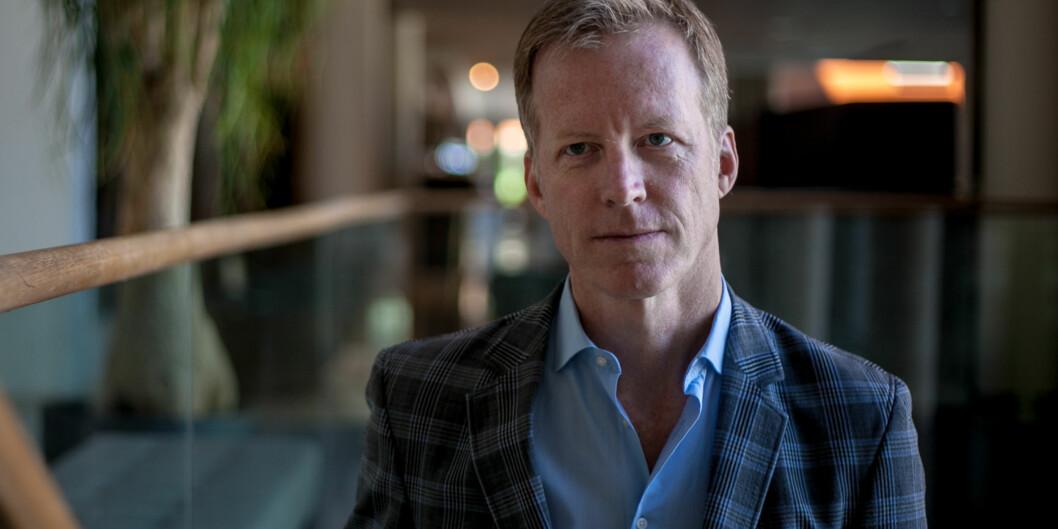 Rektor Curt Rice ved Høgskolen i Oslo og Akershus må forklare overfor sin eier Kunnskapsdepartementet hvorfor høgskolen eier aksjer i et eiendomsselskap, i strid medreglene. Foto: Nicklas Knudsen