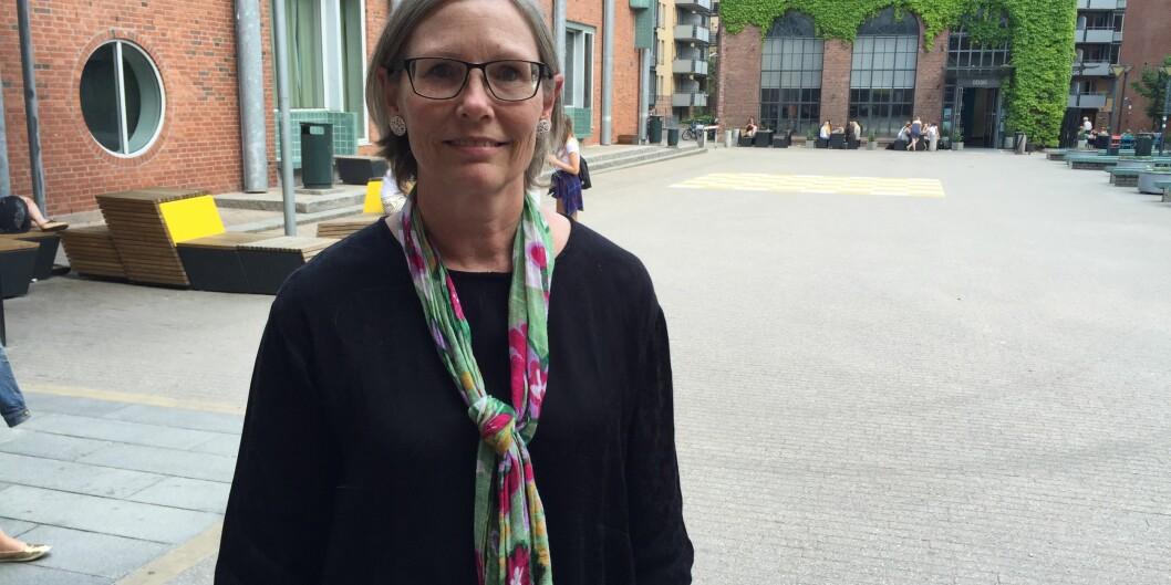 "Leder for <span class=""caps"">NRLU</span>, Elaine Munthe. Foto: EvaTønnessen"