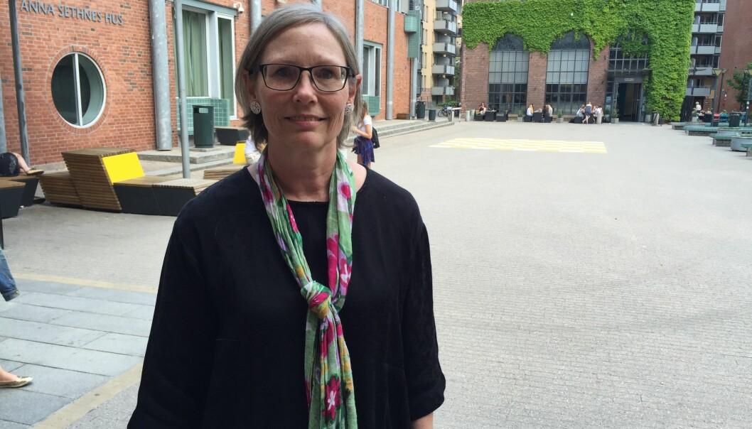 Leder for NRLU, Elaine Munthe. Foto: EvaTønnessen