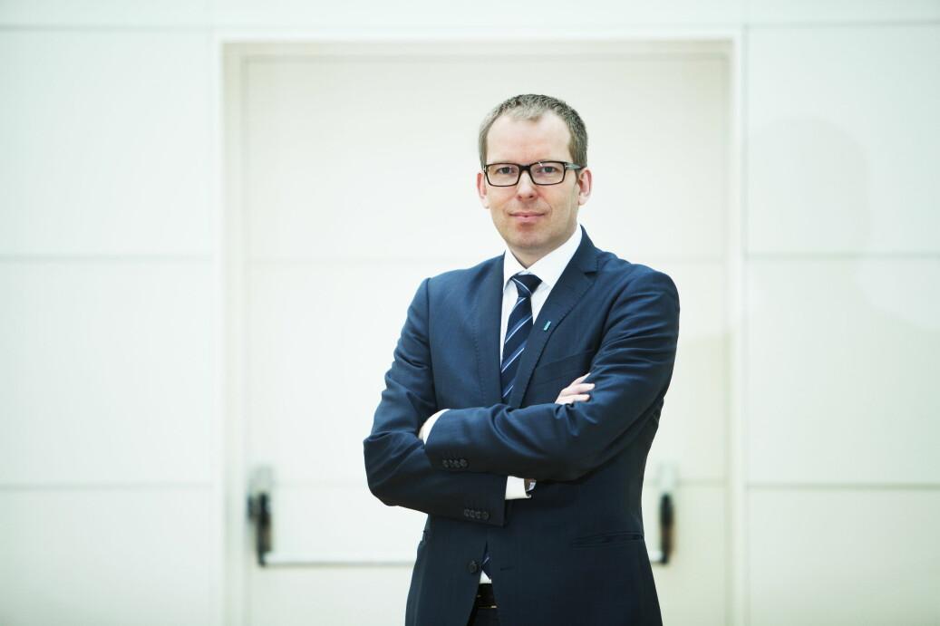 Administrerende direktør i Abelia, Håkon Haugli, er overrasket over resultatene fra NIFU-undersøkelsen. Foto: Heidi Widerø