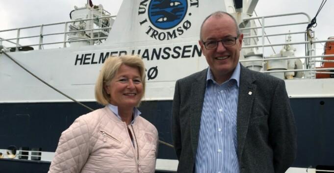 Husebekk og Bovim med samarbeid i Arktis
