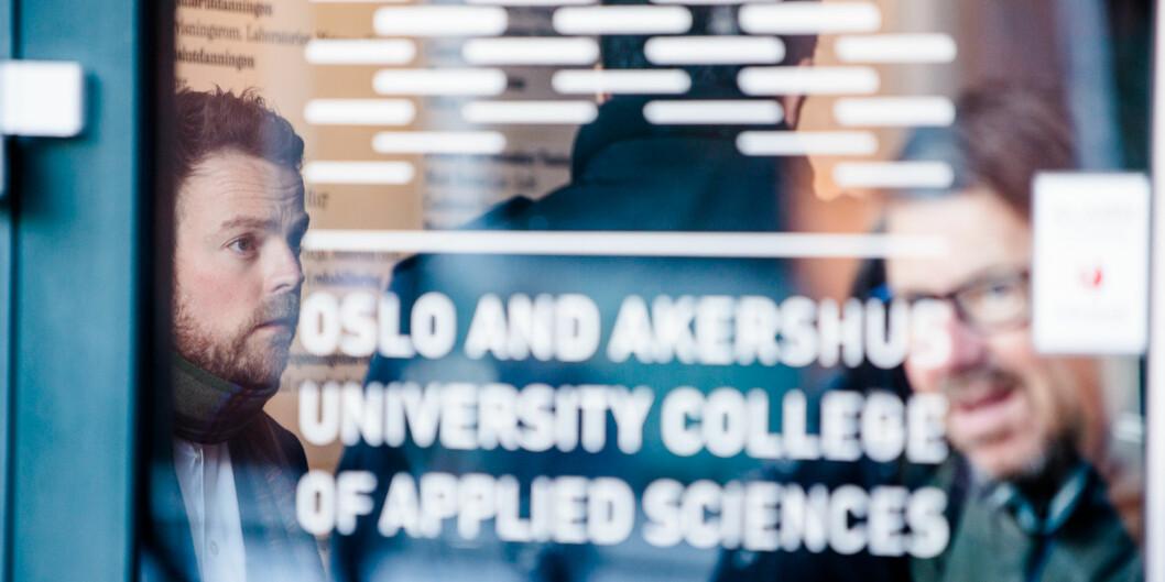 Torbjørn Røe Isaksen på Høgskolen i Oslo og Akershus 4. februar 2014 Foto: Eskil Wie / Khrono Foto: Eskil Wie
