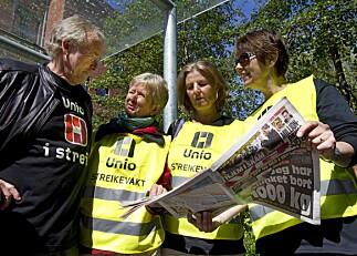 Streik kan bremse fusjonsarbeidet i vest
