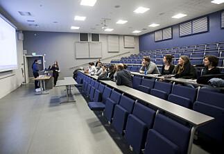 Kun 4 promille av studentene på HiOA møtte på vårens allmøter
