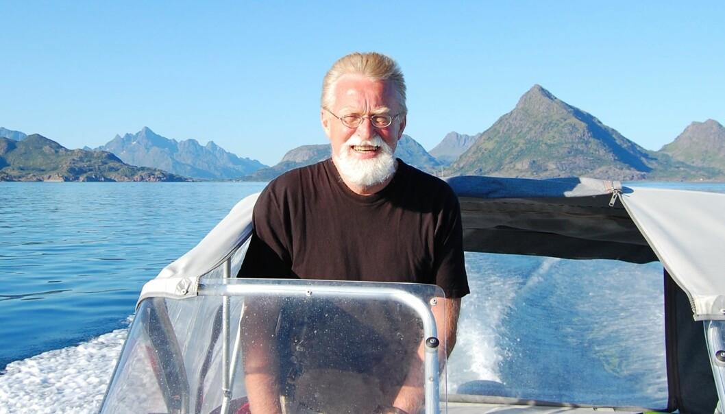 Bjørn Hersoug, professor ved Norges fiskerihøgskole i Tromsø ledet valgkomitéen for å få flere kandidater til rektorvalget ved UiT Norges arktiske universitet i 2013. Foto:Privat