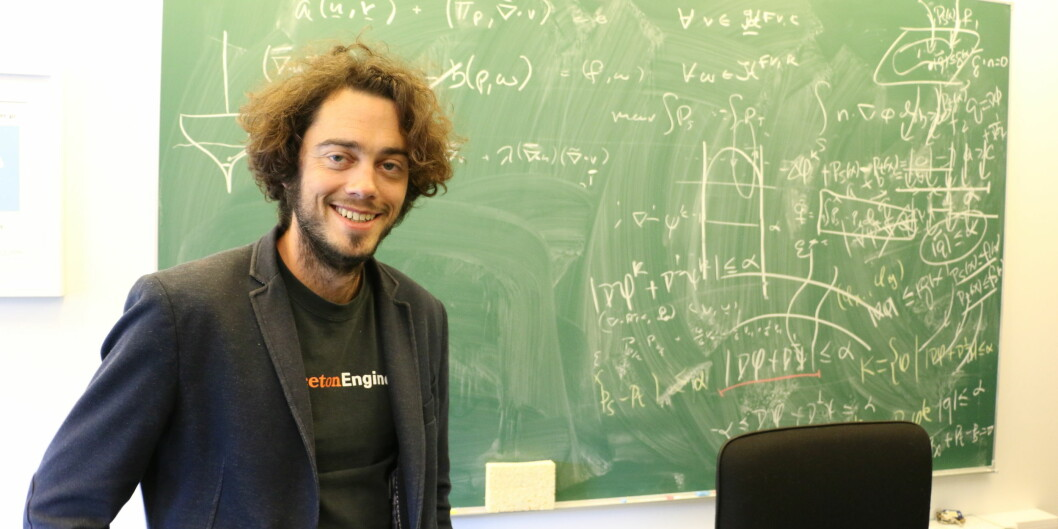 Jan Martin Nordbotten, professor i matematikk.   Foto: Dag Hellesund