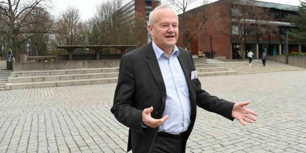 En meget god studiefinansiering er en viktig faktor som holder det danske frafallet betydelig lavere enn det norske, mener Jørgen Søndergaard, leder for det danske kvalitetsutvalget..