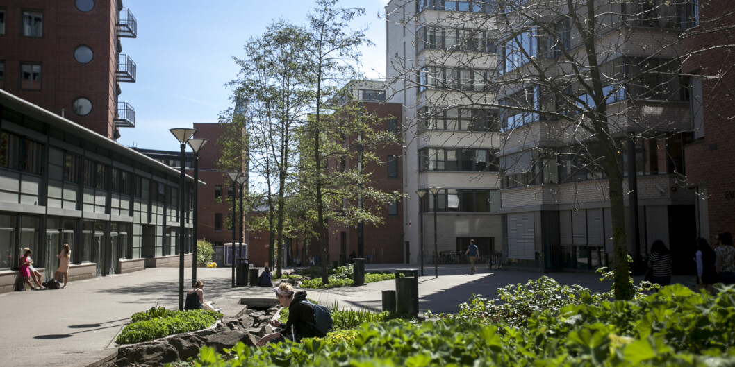 Campus Kampus HIOA Foto: Nicklas Knudsen