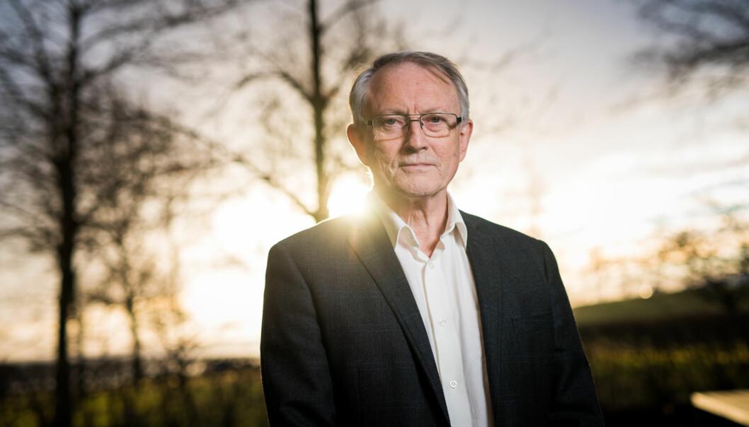 Avtroppande administrerande direktør i Forskingsrådet, Arvid Hallén, blir styreleiar for den nye Høgskulen påVestlandet. Foto: Skjalg Bøhmer Vold