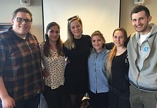5 av 6 studentledere gjenvalgt i Volda