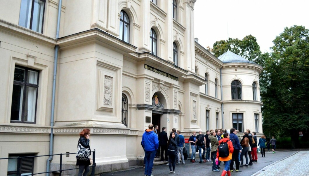 St.Olavsgate 32 på Tullinløkka i Oslo sentrum kan bli oslostudentenes nyestorstue.