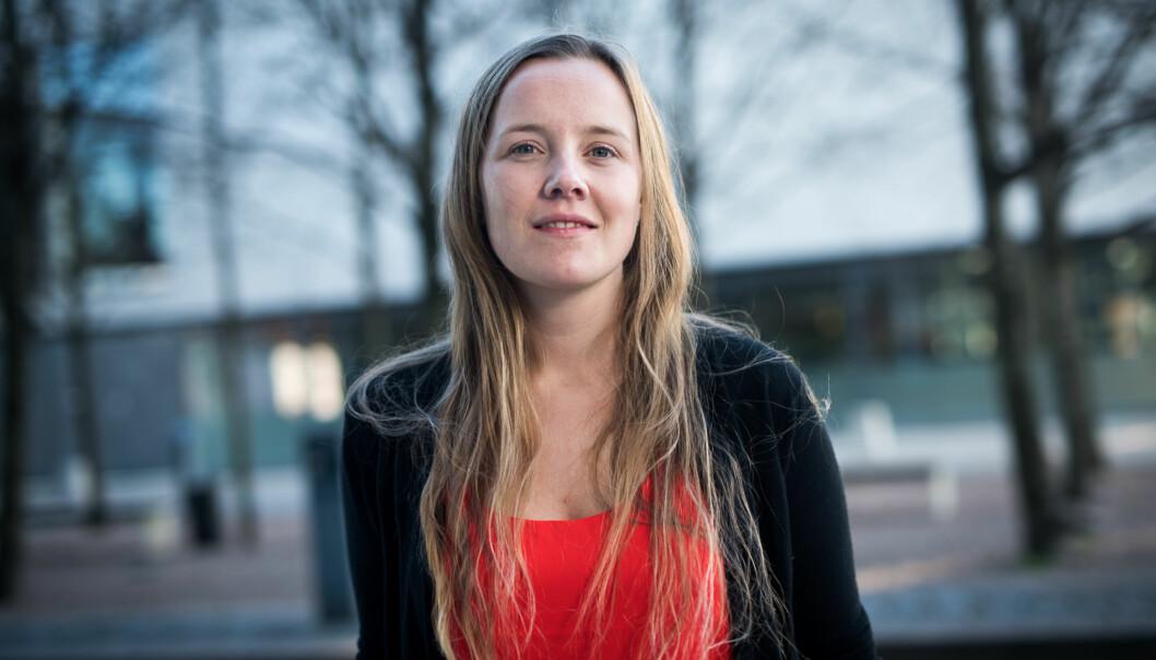 Marianne Andenæs fra Universitetet i Oslo vant valget og er neste års leder av Norskstudentorganisasjon. Foto: Skjalg Bøhmer Vold