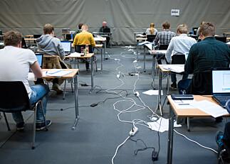 Kroniske søvnproblemer gir student eksamenstrøbbel. Varsler søksmål mot NHH for manglende tilrettelegging.