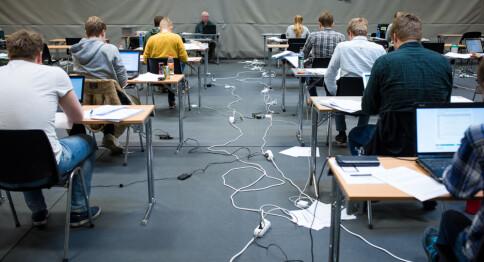 Nær halvparten av studentene har eksamensangst