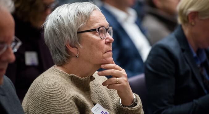 Rektor ved Høgksolen i Lillehammer Kathrine Skretting. Foto: Skjalg Bøhmer Vold