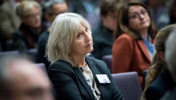 Rektor ved Universitetet i Stavanger Marit Boyesen på Kontaktkonferansen 2016.