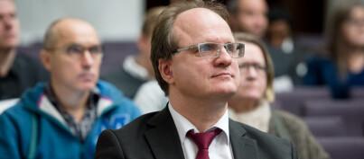 Rektor ved Universitetet i Agder, Frank Reichert. Foto: Skjalg Bøhmer Vold