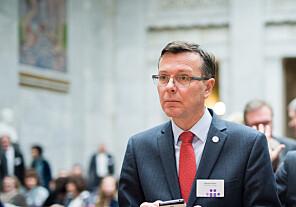 Rektor på UiB Dag Rune Olsen . Foto: Skjalg Bøhmer Vold
