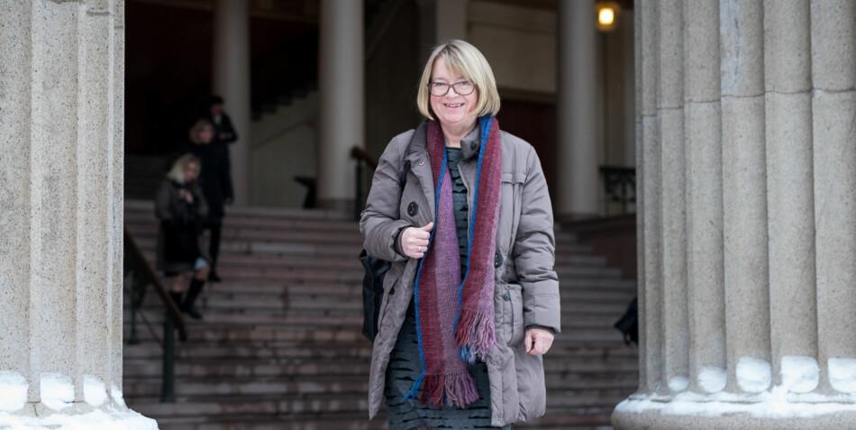 Prorektor på NTNU Berit Kjeldstad ønsker drastiske tiltak for å få flere menn til å bli psykologer. Foto: Skjalg Bøhmer Vold