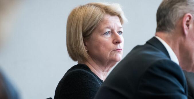 UiT-rektor Anne Husebekk ber Moderat liste unnskylde begrepsbruken sin i forbindelse med mistillitsak mot parlamentsleder. Arkivfoto: Skjalg Bøhmer Vold