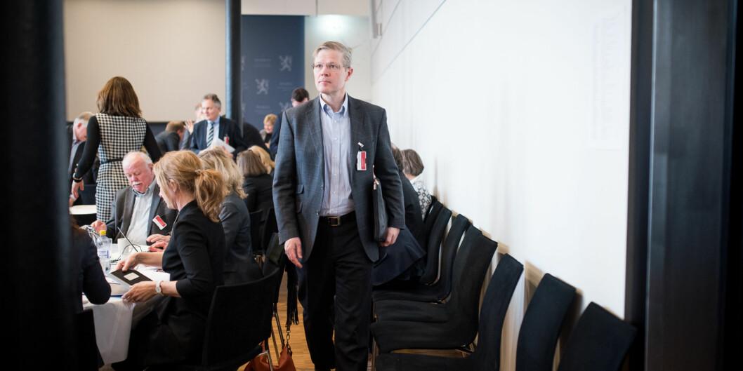 Departementsråd Petter Skarheim i Kunnskapsdepartementet. Foto: Skjalg Bøhmer Vold