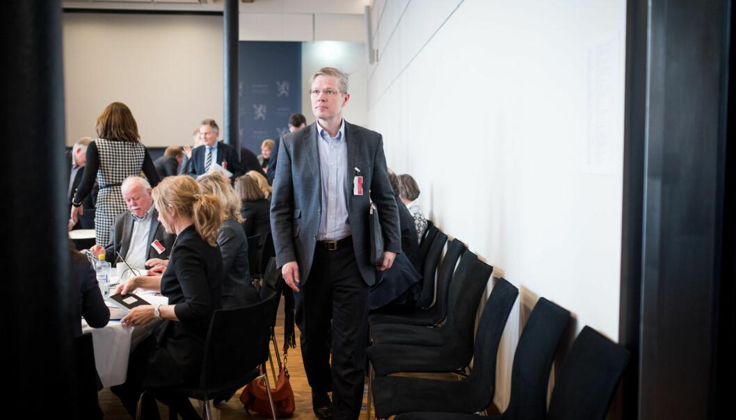 Departementsråd Petter Skarheim omorganiserer i Kunnskapsdepartementet og har 75 prosent menn i toppledergruppen sin.